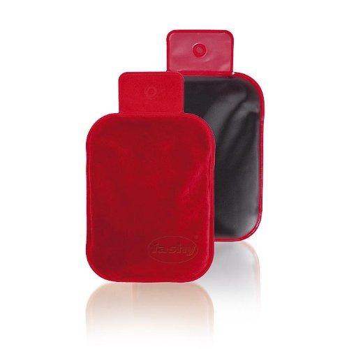 FASHY 6300 Moorkompresse 18 x 27 cm Microwellengeeignet Moorkissen Moorpackung Fango eine Samtseite rot