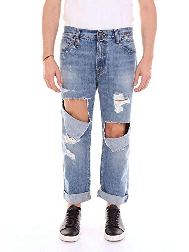 R13 Men's R13m0044bluejeans Blue Cotton Jeans for sale  Delivered anywhere in USA