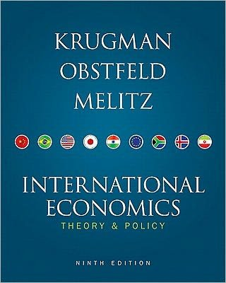 Download International Economics (text only) 9th (Ninth) edition by P. R. Krugman,M. Obstfeld,M. Melitz pdf