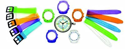 Children's 5 in 1 Multicoloured Interchangeable Strap Watch - DSJ014 by Centaur Travel Retail Europe Limited