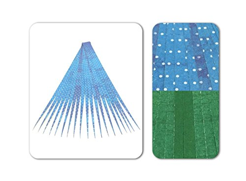 "Paper Bead Beading Strips for Paper Beads Double Sided 1"" Precut Paper Strips Make Beautiful Jewelry Beads from Ground Zero Creations"
