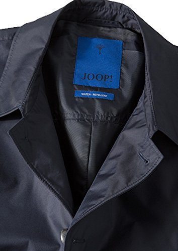 JOOP! Herren Mantel Melvin1 Mikrofaser Warme Jacke Unifarben, Größe: 48, Farbe: Blau