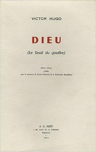 En ligne téléchargement gratuit Dieu (Le seuil du gouffre) pdf