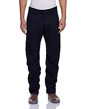 Men's Powel 3D Tapered Fit Pant In Left Hand Twill Mazarine Blue