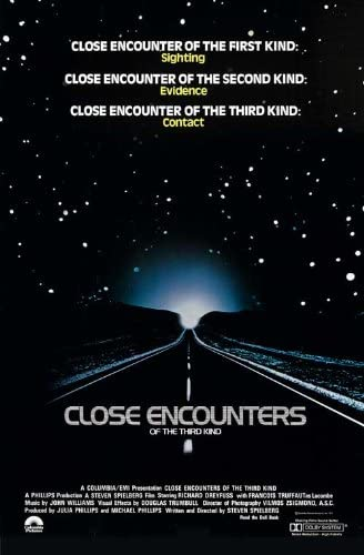 Image result for close encounters of the third kind poster