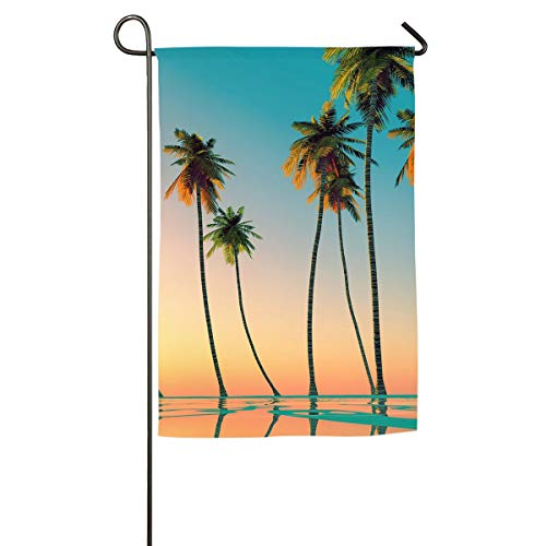 Suge@HAT Palm-Trees-Wallpaper-Phone-Wallpapers-Pinterest-Palm-Tree-Wallpaper Garden Flag Indoor & Outdoor Decorative Flags for Parade Sports Game Family Party Wall Banner 1218inch