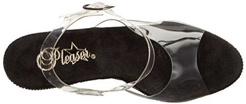 Pleaser ADORE-708RS-1 AClr / Blk