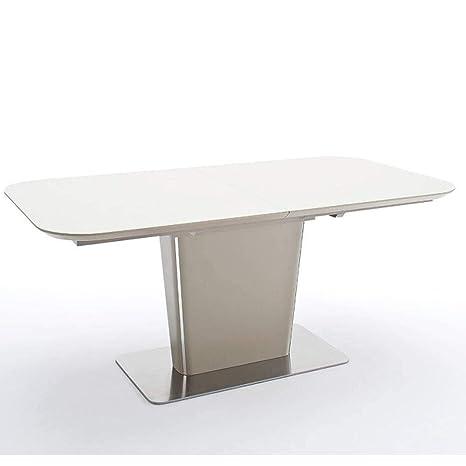 Mesa Comedor Extensible Design UMA 180 cm Taupe: Amazon.es ...