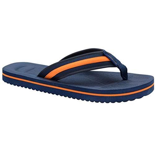 Dunlop Mens Eva Max Cushion Toe Post Flip Flops Sport Beach Summer Sandals Holiday Pool Shoes Size 6-12