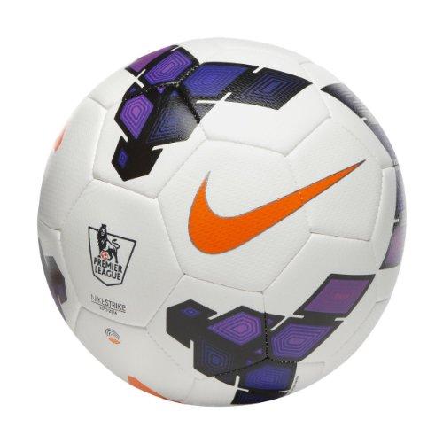 Nike Strike Football FootBall   Color: White/Purple , Size :5