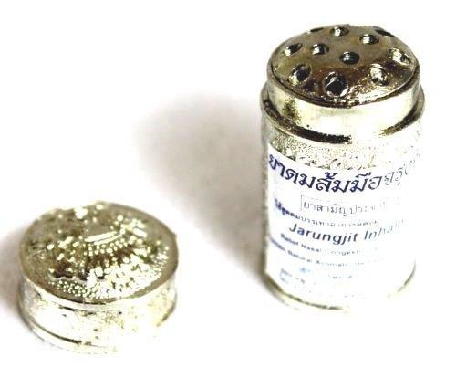 12 Piece Jarungjit Ancient Nasal Inhaler Herbal Relief Dizziness Faint Sinus by Jarungjit 12 Piece / packs (Image #3)