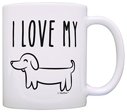 Wiener Funny Dachshund Lovers Coffee