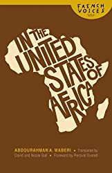 In the United States of Africa (French Voices (Bison Paperback))