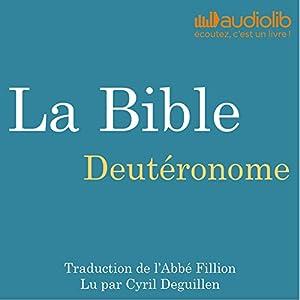 La Bible : Deutéronome Audiobook