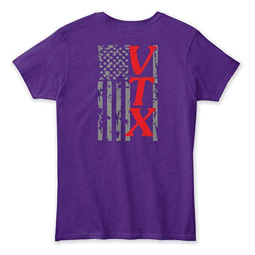 Vtx T-shirt - Proud vtx Owner. 3XL (22-24) - Purple Tshirt - Gildan Women's Relaxed Tee