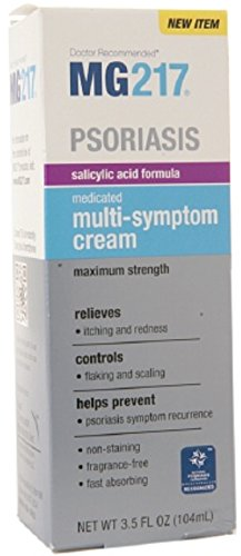 Price comparison product image MG217 Psoriasis Medicated Multi-Symptom Cream 3.5 oz (Pack of 7)