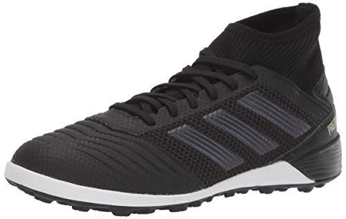 (adidas Men's Predator 19.3 Turf Soccer Shoe Black/Gold Metallic, 10 M US )