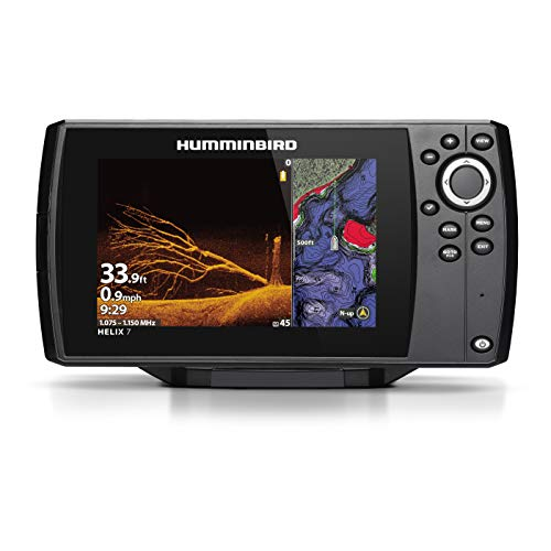 Humminbird 410940-1NAV HELIX 7 CHIRP MDI (MEGA Down Imaging) GPS G3 NAV Fish Finder