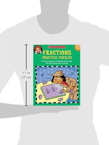 Amazon.com: Funnybone Books: Fractions Practice Puzzles (Grades 4 ...