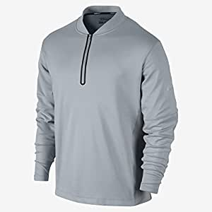 Nike Men's Dri-Fit Wool Tech Cover-Up - Small - Light Magnet Grey