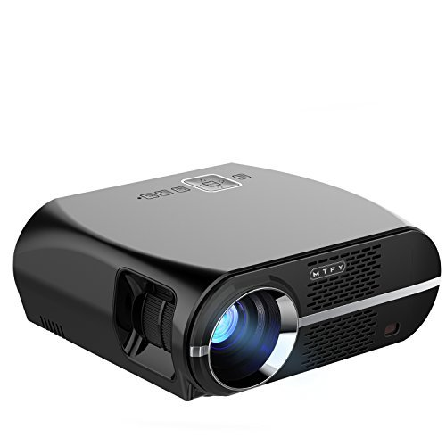 1080p Full Hd Led Lcd Multimedia Vga Hdmi Tv Home Theater: GP100 Video Projector 3500 Lumens LCD 1080P Full-HD LED