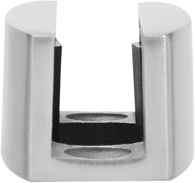 304 Stainless Steel Floor Bottom Guide Replacement for Frameless Sliding Glass Doors Eastbuy Floor Guide