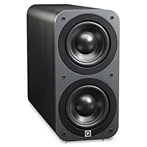 Q Acoustics 3070S - Subwoofer (140W, 50 - 150 Hz, 17 cm, Grafito, 20 cm, 42,5 cm)