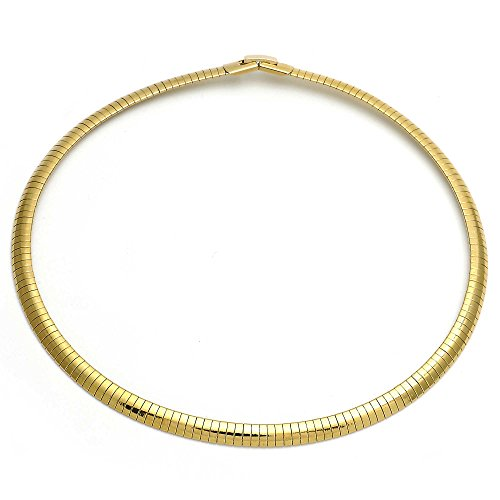 6mm omega necklace - 3