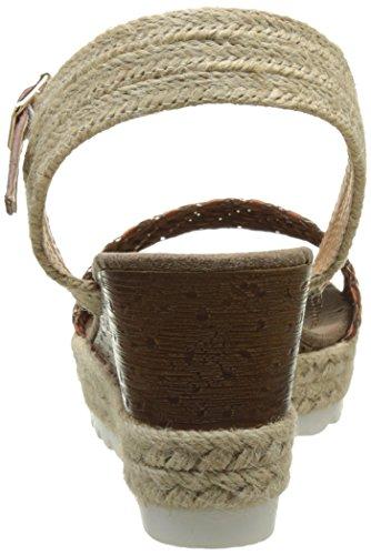 Initiale Soleil - Zapatos Mujer marrón (cognac)