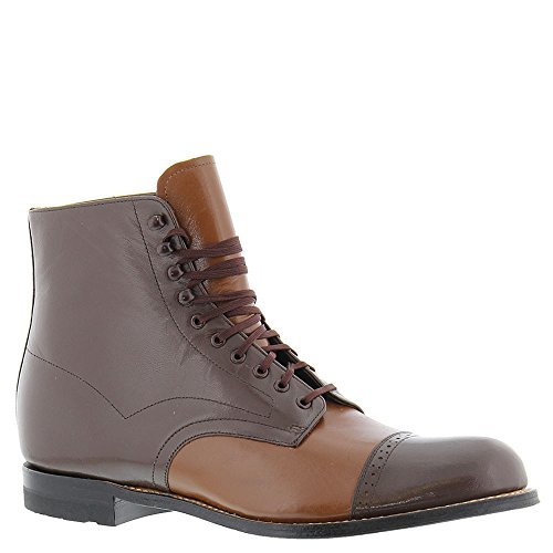 Bota Stacy Adams Para Hombre Madison Con Punta De Gorro Marrón-roble