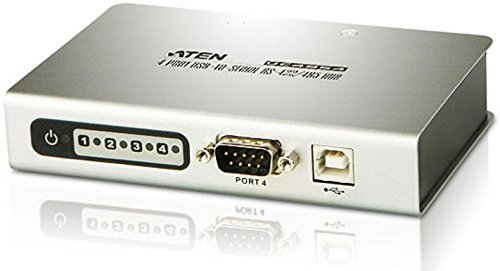 Aten Parallel Serial Cable (ATEN 4-port USB to Serial RS-232 Hub UC4854)