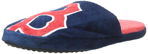 (Forever Collectibles Boston Red Sox Big Logo Slide Slipper)