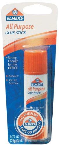Elmer's All-Purpose Glue Stick, Large, 0.77 oz, Single Stick (E515)