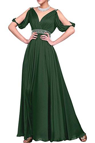 Missdressy -  Vestito  - linea ad a - Donna Dunkelgruen 44