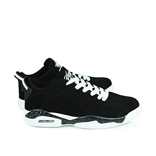 Black Usar Negro Pu Unisex Casual Tela Tabla Zapatos Four Puede Zapatillas Wwjdxz Calzado De Seasons Hombre x8pUf
