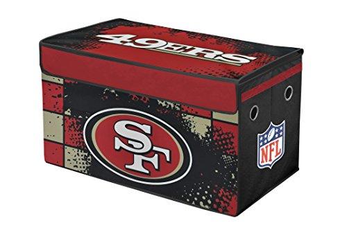 NFL San Francisco 49de tronco de almacenamiento plegable