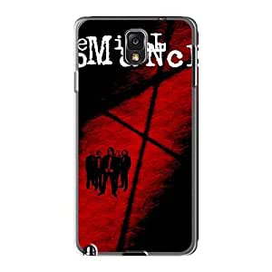 DannyLCHEUNG Samsung Galaxy Note3 Shock Absorption Hard Cell-phone Case Support Personal Customs High Resolution My Chemical Romance Band Pattern [DHL13185KmQR]