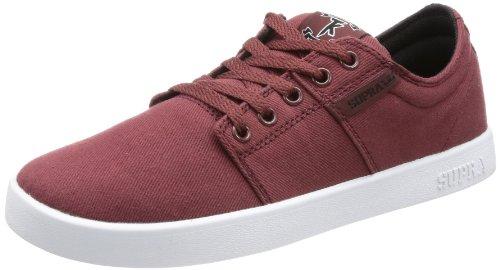 Supra Mens Stacks Sneaker Rouge