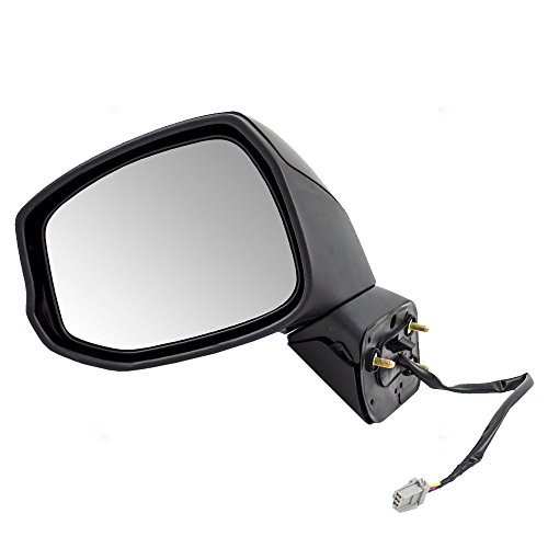 (Drivers Power Side View Mirror Replacement for Honda Civic 76258-TR3-A01 AutoAndArt)