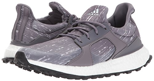 adidas Women's W Climacross Boost Golf-Shoes, Trace Grey/Grey Two Core Black, 9 M US by adidas (Image #6)