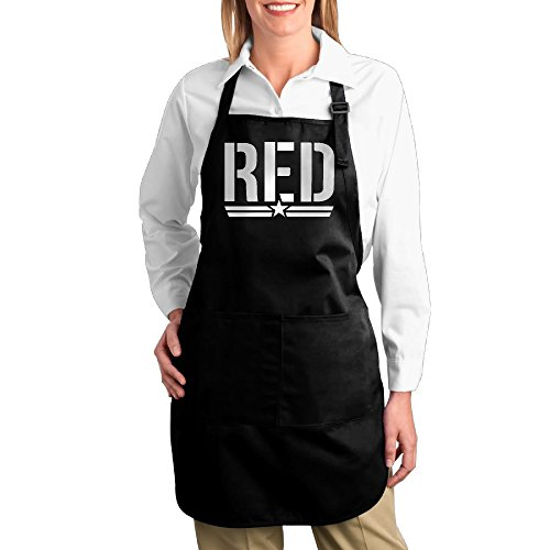 big-red-military-red-on-fridays-logo-chef-aprons
