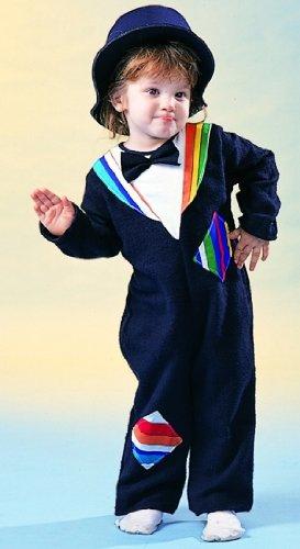 [Mr. Hobo Pajama Costume Infant Toddler] (Mr T Costumes)