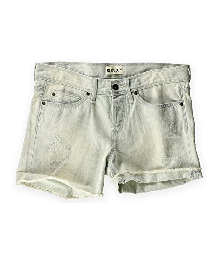Roxy Womens Tomboy Bleach Casual Denim Shorts