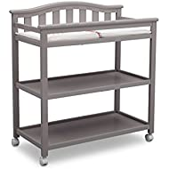 Delta Children Bell Top Changing Table With Casters,.