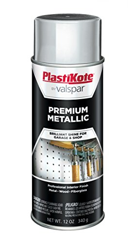 (PlastiKote 451 General Purpose Metallic Silver Premium Enamel - 12 Oz.)