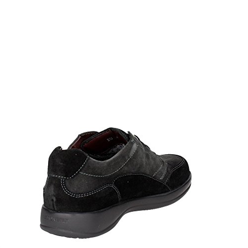 Stonefly 107800 M34 Niedrige Sneakers Herren Schwarz/Grau