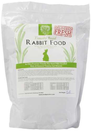 Small Pet Select Rabbit Food Pellets, 5-Pound