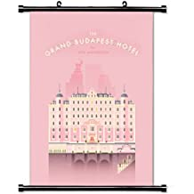 Home Decor Beauty Nature Art Poster with Grand Budapest Hotel Wall Scroll Poster Fabric Painting 24 X 36 Inch (60cm X 90 cm)