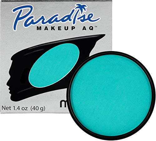 Mehron Makeup Paradise AQ Face & Body Paint (1.4 Ounce) (Teal)