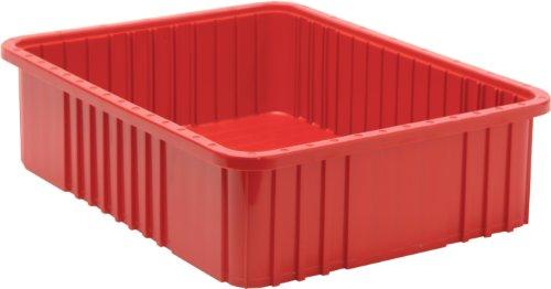 (Quantum Storage DG93060RD Dividable Grid Storage Container, 22-1/2